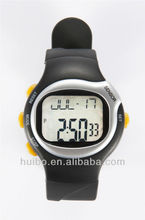 for sale cheap heart rate monitor calorie pedometer watch with wristband