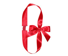 "7/8"" red elastic packing ribbon bow with ribbon loop/gift wrapping ribbon bows/fancy gift bows package bows ribbon bows"
