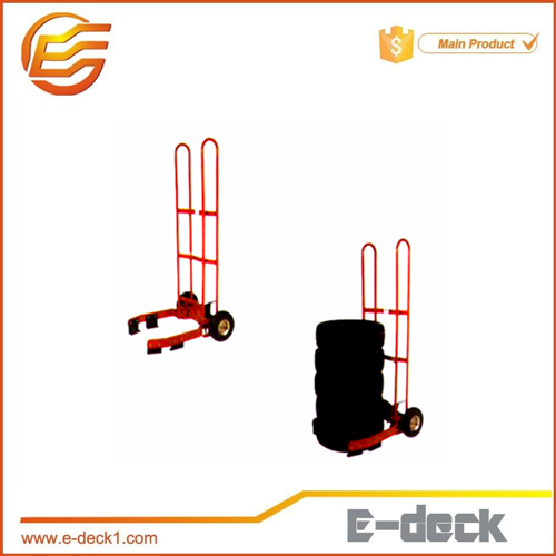 steel powder coating truck tire shipping rack dolly