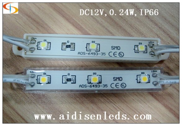 3 led/pc waterproof 3528 led module dc12v for sign litghting