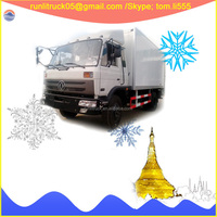 Dongfeng 145 EQ1141KJ RHD 170hp 8ton refrigerator van truck used for sale in uae
