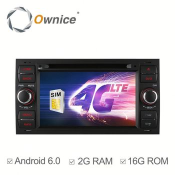 Ownice C500 Quad core android 6.0 auto headunit for Ford Focus Mondeo S-max C-max built in RDS multimedia USB BT Wifi