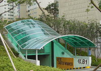unbreakable Co-Extruded lexan solid polycarbonate sheet roofing