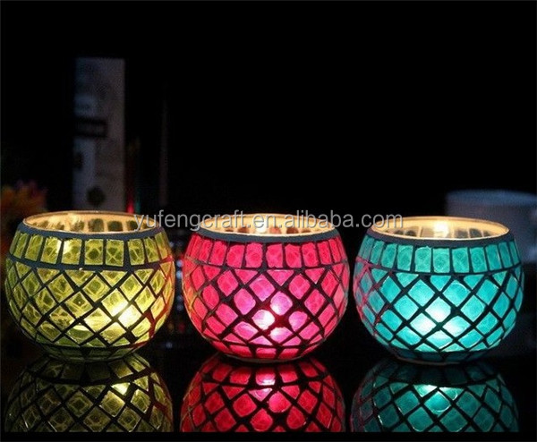 floating pier float decorative cut candle jars wholesale