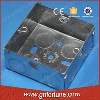 IP65 waterproof outdoor 3x3 GI switch box supplier