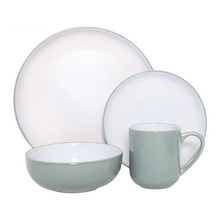China housewares HG28-GZ01-16 happy go porcelain <strong>plates</strong> sets dinnerware two tone glaze ceramic dinner set price