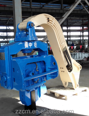 YZM-45 high quality excavator sheet piling hammer