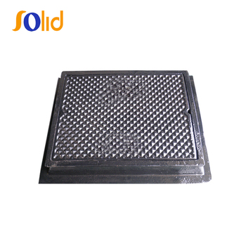 En124 Custom Size Safety Municipal Heavy Duty Drain Manhole Cover