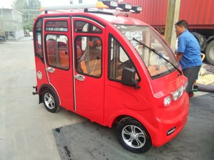 solar 4 wheeler mini small electric car/tricycle on hot sale