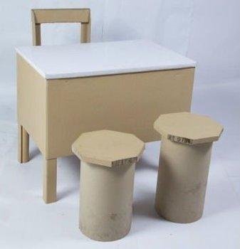 Handmade Diy Paper Craft Furniture Model Paper