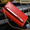 Wholesale cell phone PU Lady wallet case for iphone 6plus
