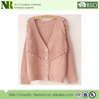 wholesale popular cute latest designs comfortable soft woman sweaters