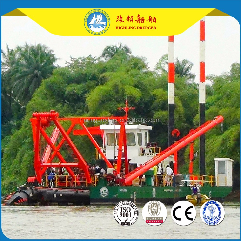 Cutter Suction Dredger in Bangladesh
