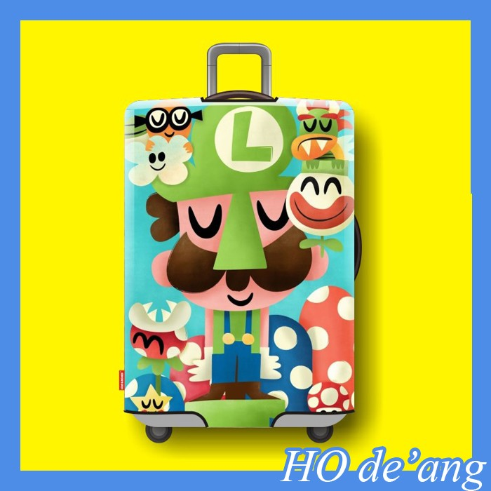 HOGIFT Protective Cover Luggage Suitcase,Protective Luggage Cover,Cover for Luggage