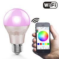 RGBW Warm White Magiclight WiFi Smart LED Light Bulb Smartphone Controlled