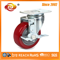 5 Inch Swivel Locking Caster Wheels 5867-76