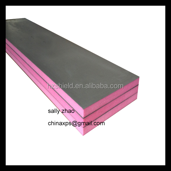 Hot sale tile backer board extruded polystyrene foam insulation board