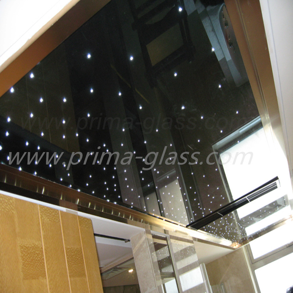 Prima fashion LED laminated glass for bar decoration