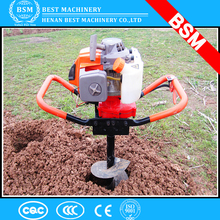 Nigeira hot sale 62cc 75cc 85cc auger for earth drilling,electric earth auger,earth auger drill bits