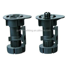 JAL006 Furniture Legs Plastic Adjustable Feet for Cabinets