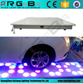 High quality led dance floor with flower led stage light
