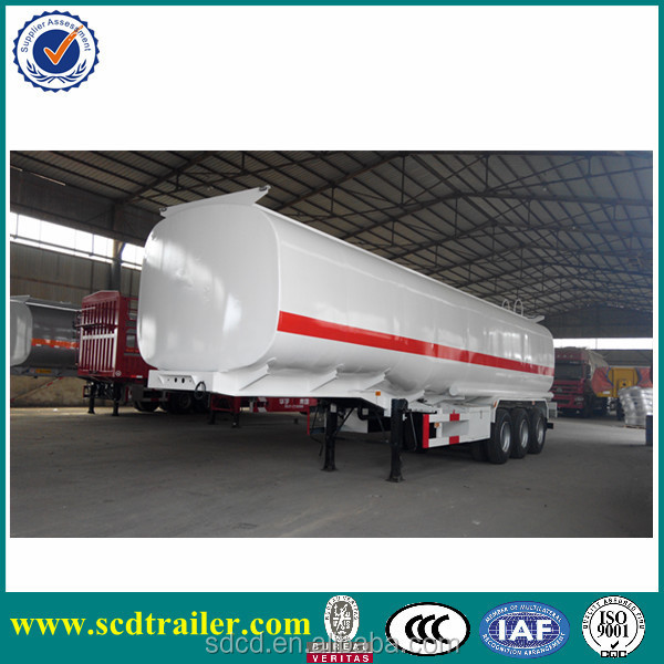 3 axles small fuel tank trailer