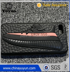3D Jordan yeezy 350 v2 sply zebra bred phone case cover for iphone 7