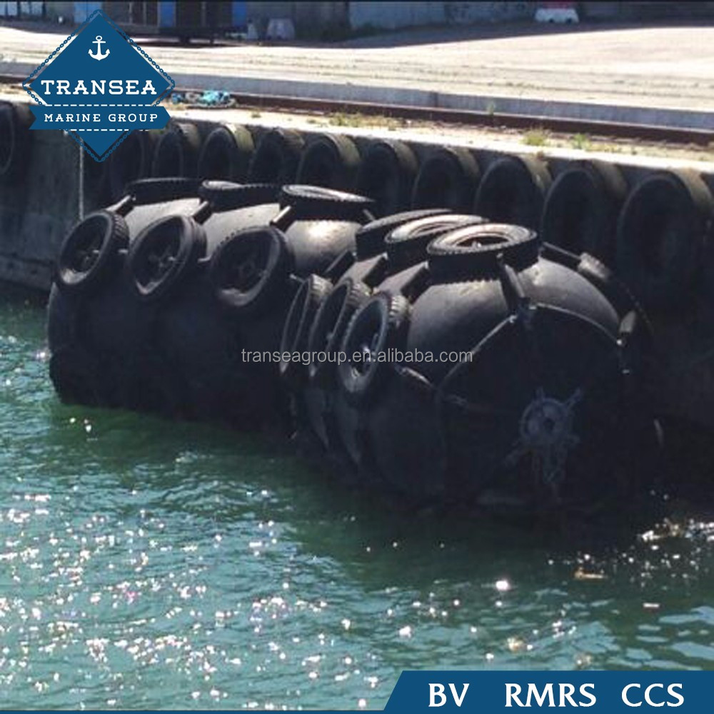Strong elasticity and absorbent boat inflatable pneumatic rubber fender for ship