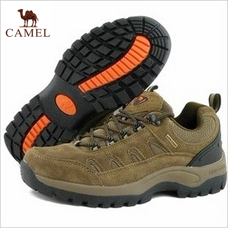 2014 outdoor hiking shoes genuine leather outdoor cotton-padded shoes comfortable slip-resistant wear-resistant cold size 35-39