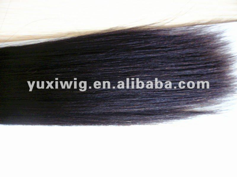top quality 100% human hair yaki straight