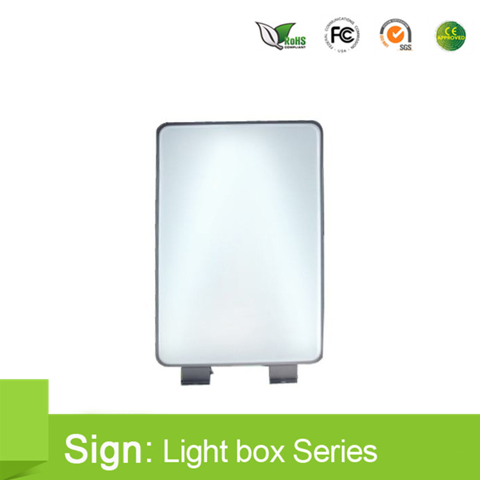 Sales promotion Outdoor Double sided-lit Vacuum Formed Acrylic led Light Box