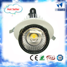 Most popular adjustable 20W/30W/40W recessed downlight e27 with long life-span more than 50000 Hours