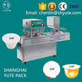 Automatic factory price water cup filling sealing machine with CE certificate