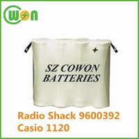 cordless replacement battery 4.8V 600mAh ni-cd battery pack battery for Radio Shack 9600392 CPB-402