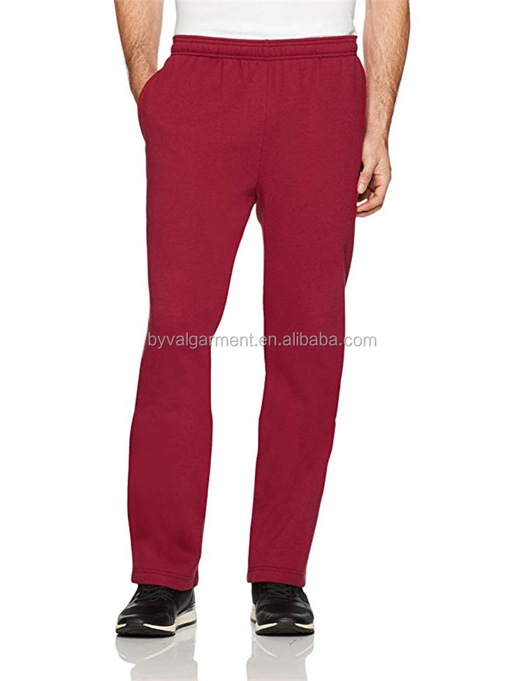 Custom Wholesale Workout Fitness Sweatpants Tapered Regular Gym Cotton Jogger Track Pants Man