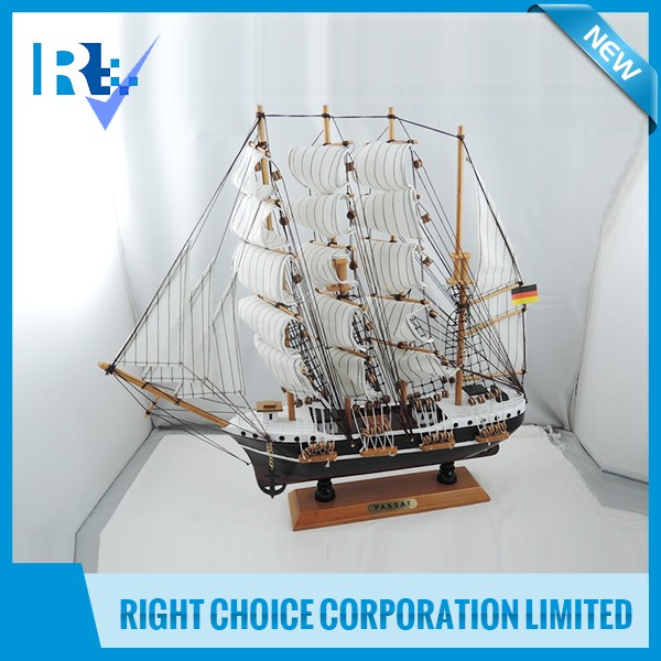 Wooden Passat Ship Model