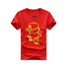 lowest price high quality customise design your style plain t-shirt iron man