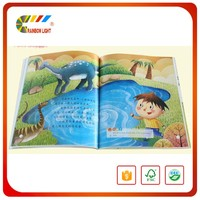 China supplier cheap price offset printing easy english kids coloring story book