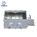 Hot Sale New Type Stainless Steel Vacuum Glove Box with Edward Pump for Laser Welding Research