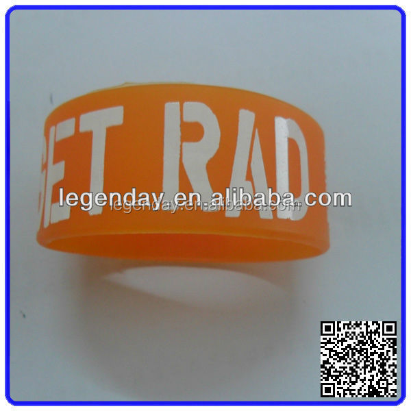 Custom Promotional Wrist Band,Adjustable Silicon Wristband,Promotional Silicon Bracelet