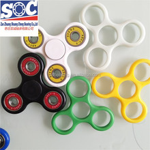 glow in dark fidget spinner with ABCE7 zro2 si3n4 608 ceramic bearing