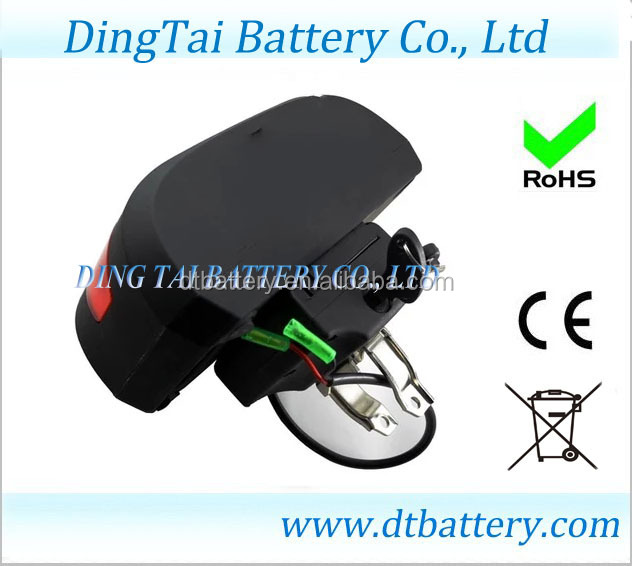 High Quality 6/10/12Ah/14ah/15ah 24v ebike battery packs/lipo battery pack for electric bicycle