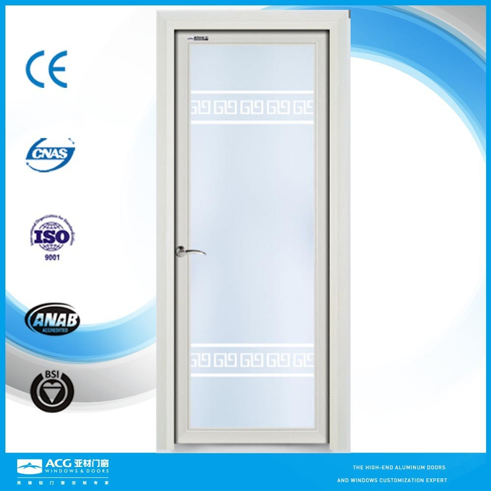 Frosted Glass Pocket Doors Double Sided Glass Float Frame