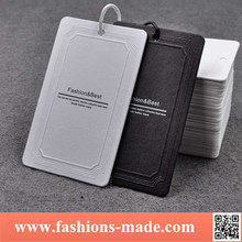 Low price Fashion Style Hang Clothing tag Lable Tag Customize