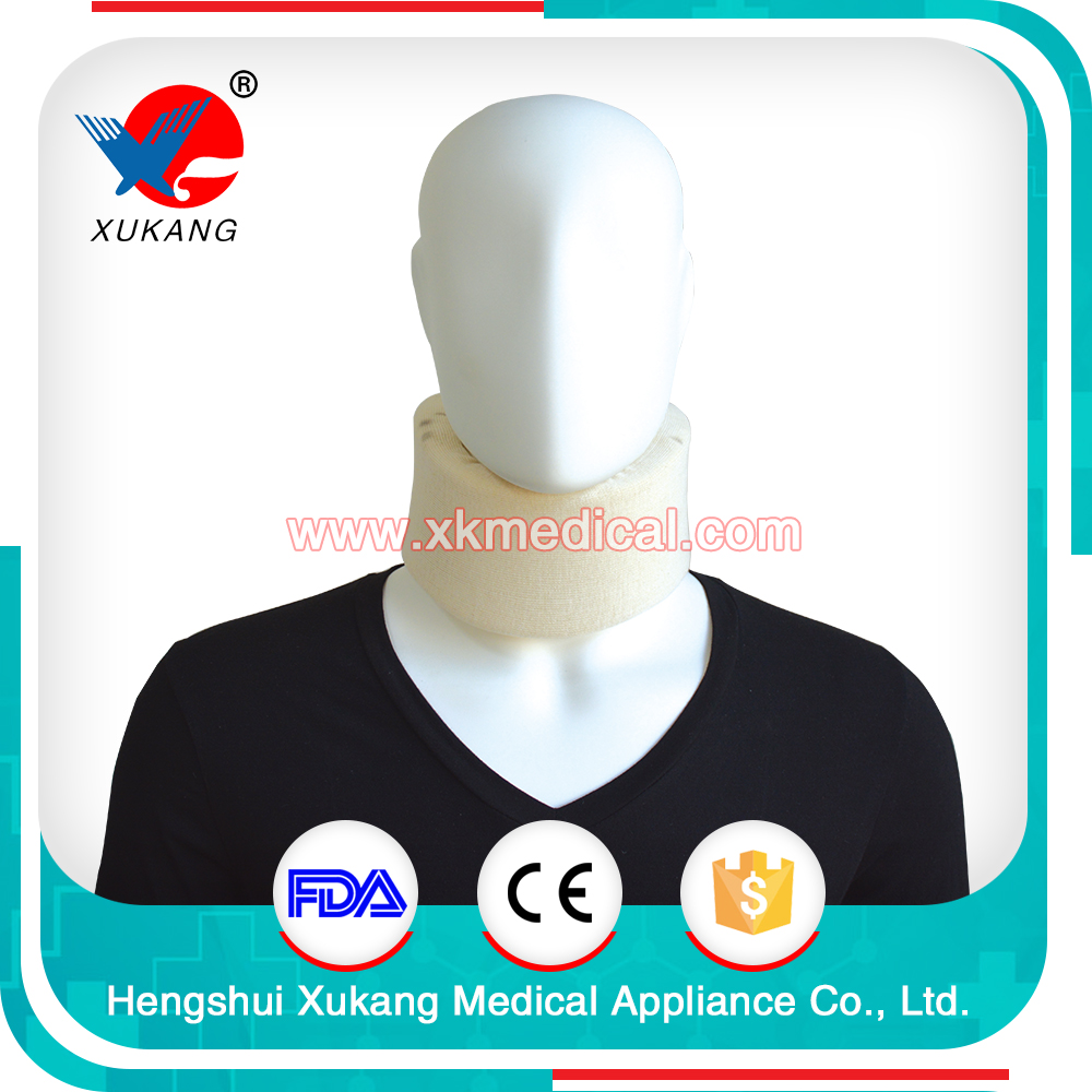 Stiff Neck Cervical Collar/Standard Foam Cervical Collar/Soft Sponge Round Collar Suit for Neck Shoulder Back Pain Syndrome