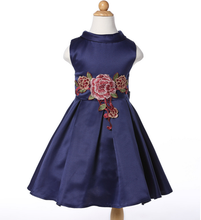 Good quality and cheap price popular children clothing with embroider tutu dresses 11 year girl without dress