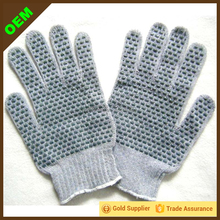 2015 New Products PVC Dotted Cotton Knit Gloves Wholesale Workplace Use