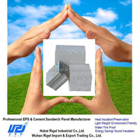 Eps Cement Sandwich Panel Material and Office Use prefabricated house