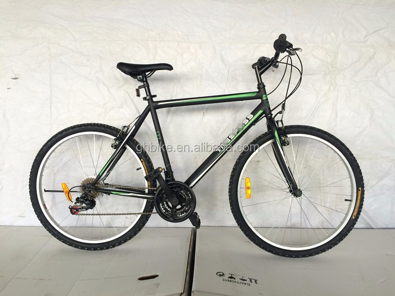26 inch aluminum alloy 21 speed mountain bike