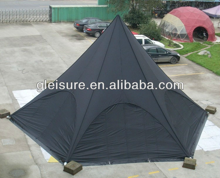 alunimun double star shade ,luxury tents for sale